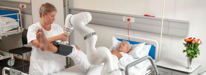 Robotten Robert<br />Foto: Life Science Robotics